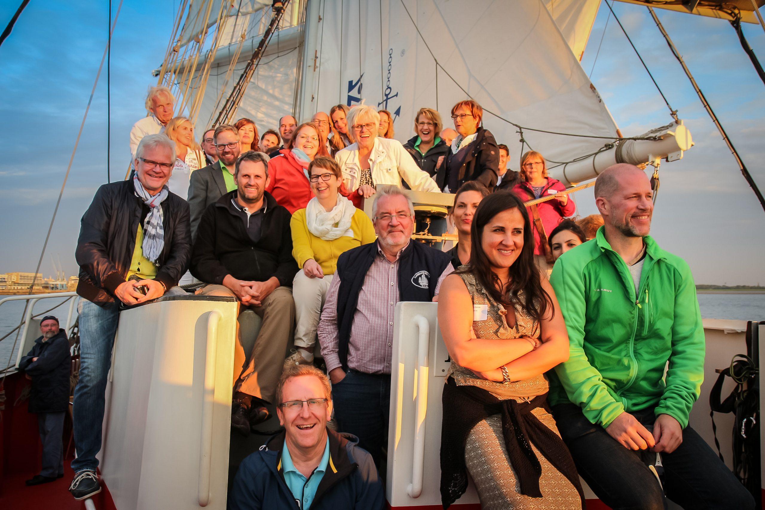 """Für Freunde der """"Königinnen der Meere"""" – Netzwerken hart am Wind – Sailing for Business – SAIL2020"""