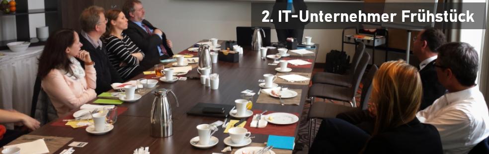 Teilnehmerstarker Auftakt beim 1. IT-Unternehmertag-Frühstück in Bremen